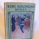 King Solomon's Mines. H. Rider Haggard, author. Arthur Westbrook A & L Edition. VG-