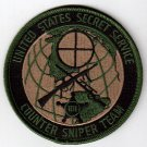 Secret Service Counter Sniper Patch # USSS # SWAT # Police