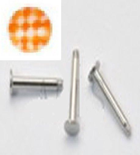 16g Soccer Ball Orange/S.S.  Steel Monroes