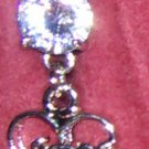Sexy Heart Dangle Belly Ring