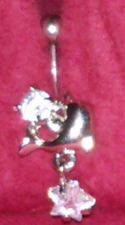 Dolphin Dangle Belly Ring