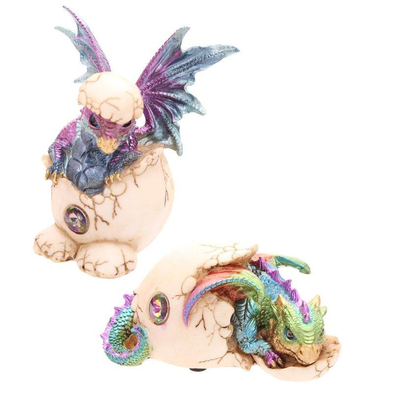 Hatching Baby Dragon Figurine