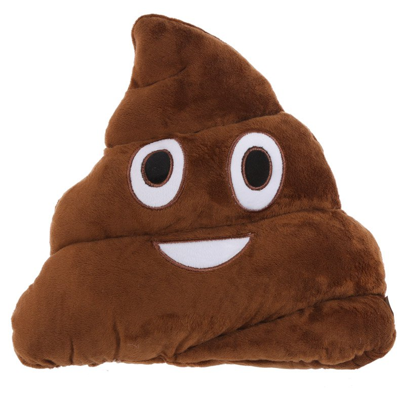 Poop Emotive Cushion