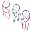 Feather and Bead Dreamcatcher 37cm
