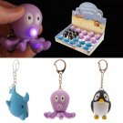 Cute LED Sealife Key Ring