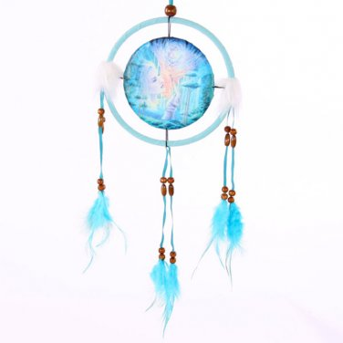 "Decorative Fantasy Fairy Design 16cm (6"") Dreamcatcher"