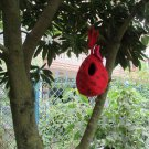 Felted Wool Bird House Bird Nest Outdoor Handmade in Nepal