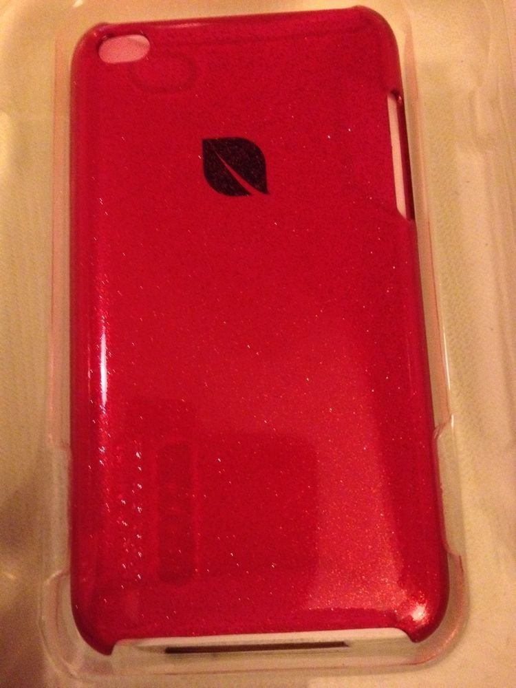 Incase Gem Crystal Snap Case for iPod Touch 4th Gen   Raspberry   CL56634