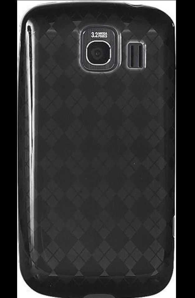 Rocketfish Soft Gel Case for LG LS670 Optimus S Grey Diamond RF-WR705