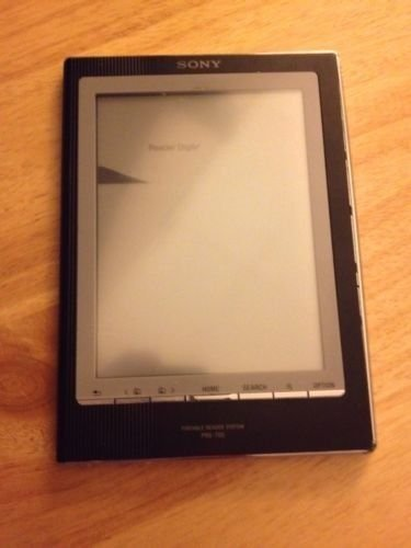 Sony PRS 700 eReader Tablet   Please Read  Bad Display