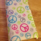Macbeth collection iPod Touch 4th Gen Hardshell Case Peace Sign Pink White Blue