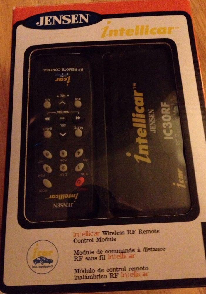 Jensen Intellicar  IC30RF Wireless RF Remote Control Module  Truck Special