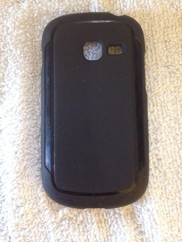 Straight Talk Samsung Galaxy Centura Grasp Case SCH-S738C  Pink Plaid  &  Black