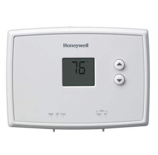 Honeywell 1 Week Programmable Thermostat Heating/Cooling RTH-221B