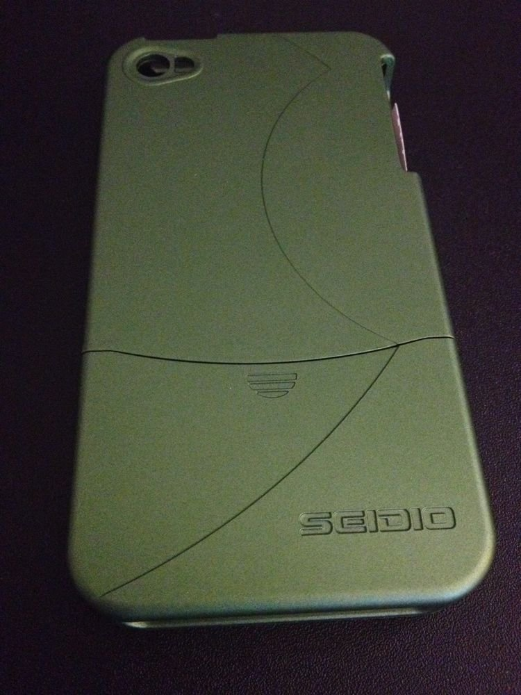 Seidio Surface Case for iPhone 4  4S  OEM  Green