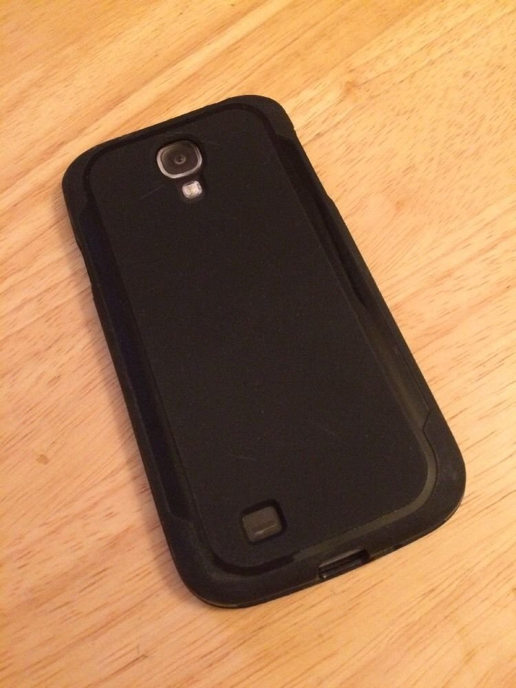 Body Glove Style Case Cover Samsung Galaxy S4 SIV Black CRC93600