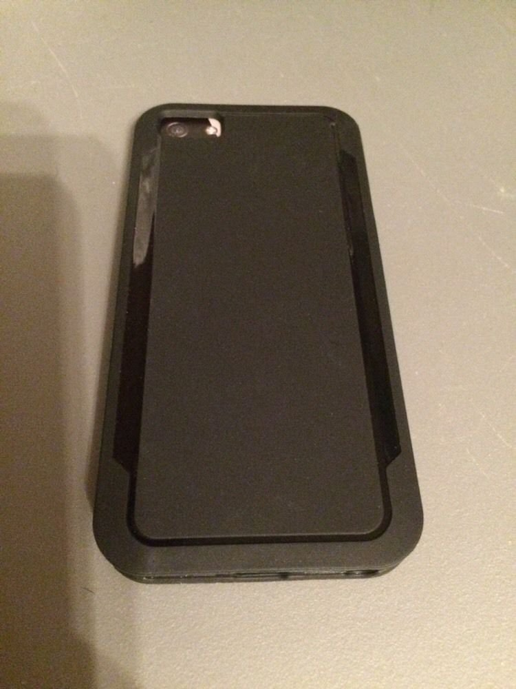 Grasp Style Case for iPhone 5 5S by Body Glove Case iPhone 5 5S Black, CRC93606