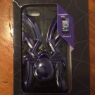 Impact Case for iPhone 5 5S Black Purple Spider Cover