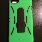 iPhone 5 Defender Style Case w/ Kickstand  iPhone 5S   Green w/ Black
