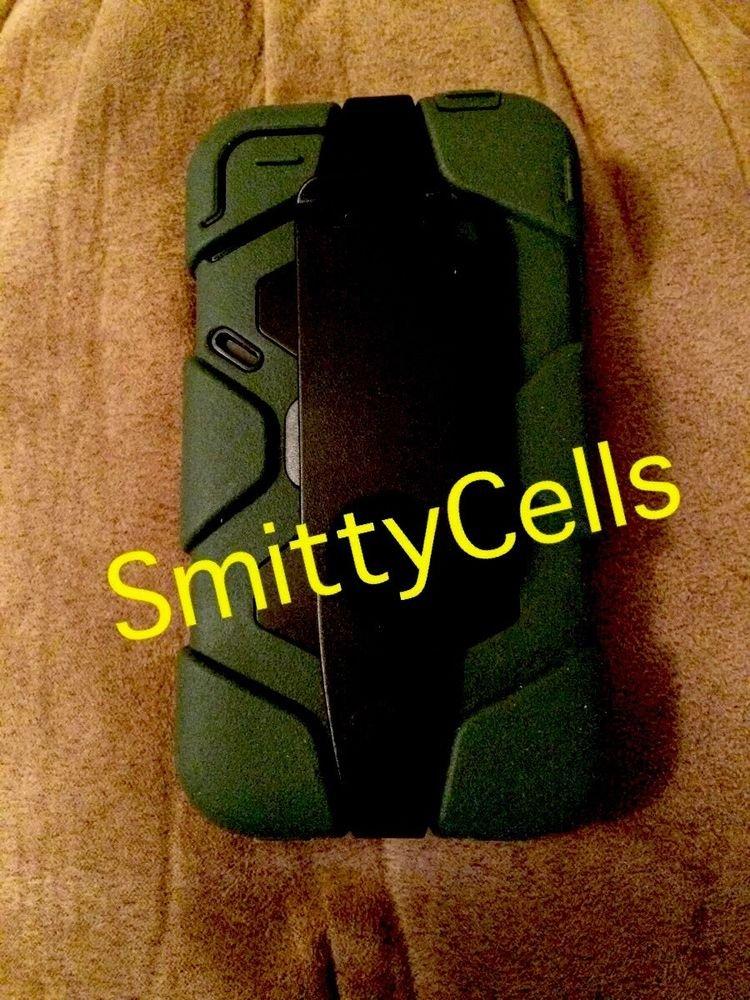 Survivor Military Grade Dual Layer Case Survivor iPhone 4 4S Cover Belt Clip