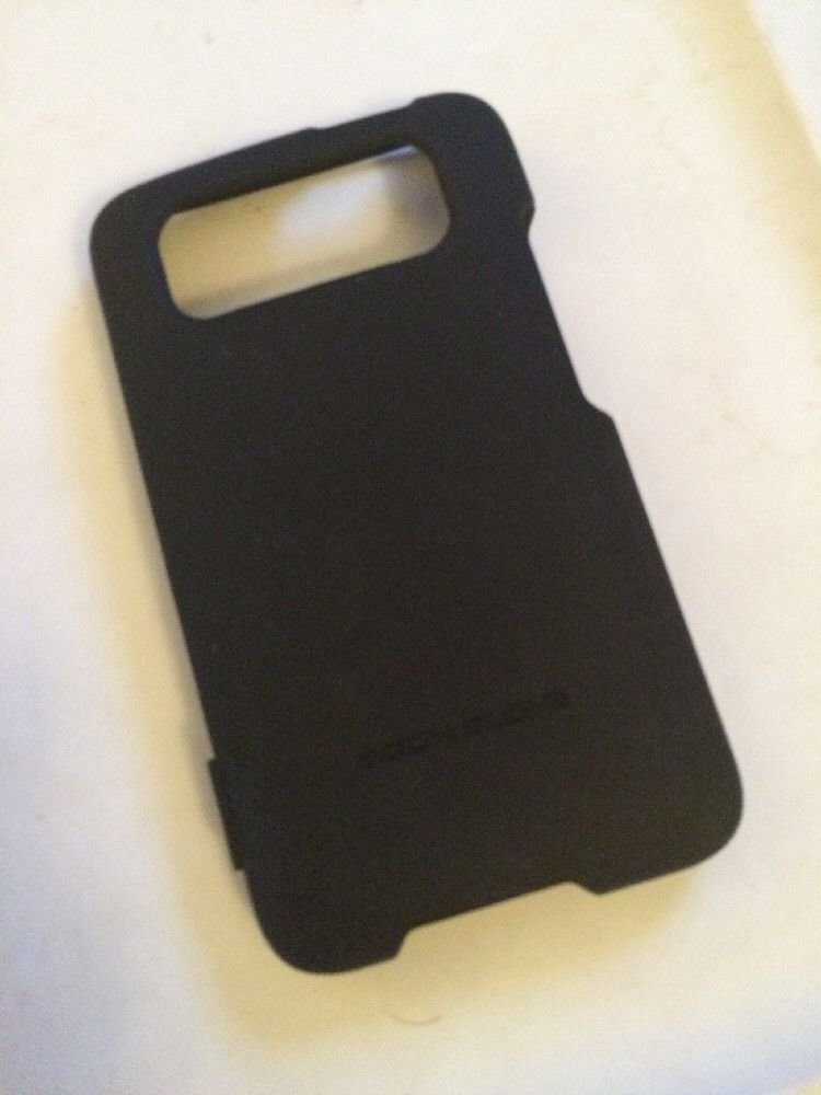 HTC Inspire Body Glove Smooth Case Cover  Black  Hard Case for ATT