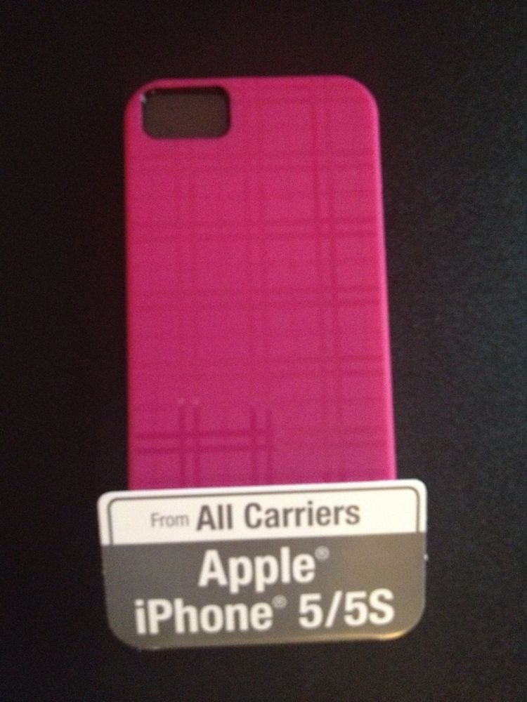 Body Glove Grasp Case for iPhone 5 5S  PInk Cover / Pink Plaid Matte Paterned