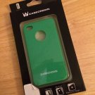 CaseCrown Gel Case for Apple iPhone 4/4S Green TPU Shell Cover Skin