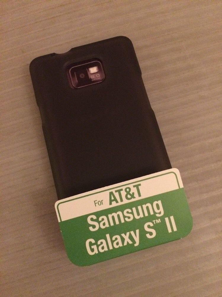 ATT Samsung Galaxy S2 SII Body Glove Grasp Case Cover Smoke Gel Case