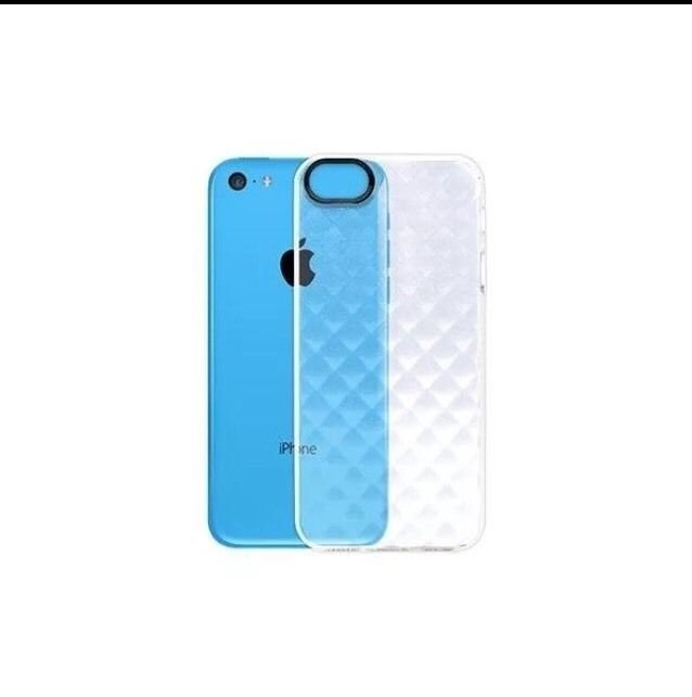Body Glove Shimmer Case for Apple iPhone 5C Clear Cover Transparent Case