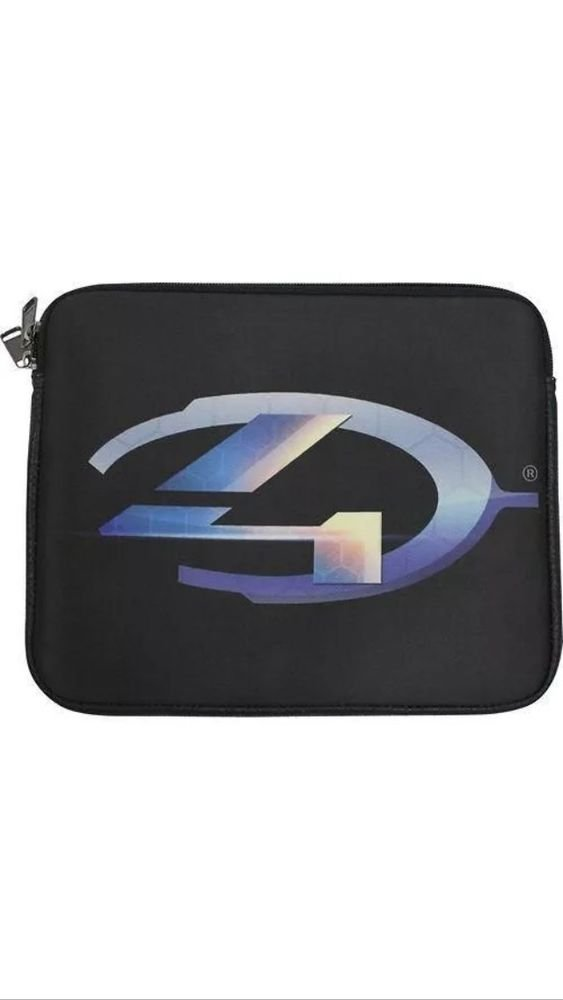 "Halo4 Neoprene Tablet Sleeve for 10"" Device  iPad  Android  Zipper Pouch"