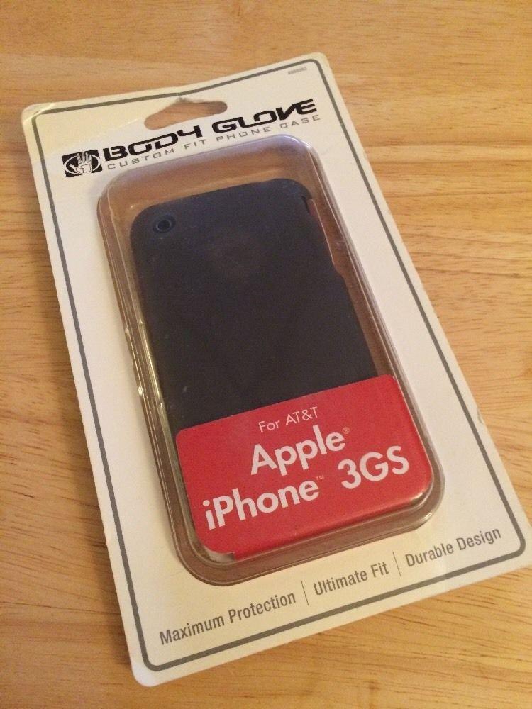Apple iPhone 3GS Body Glove Grasp Case  Matte Smoke Grey Gel Case