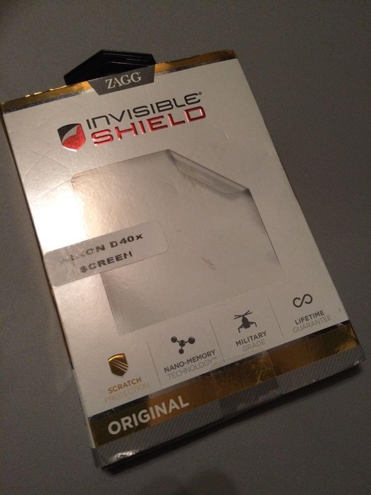 ZAGG InvisibleShield Screen Protector for Nikon D40X Digital Camera LCD Protect