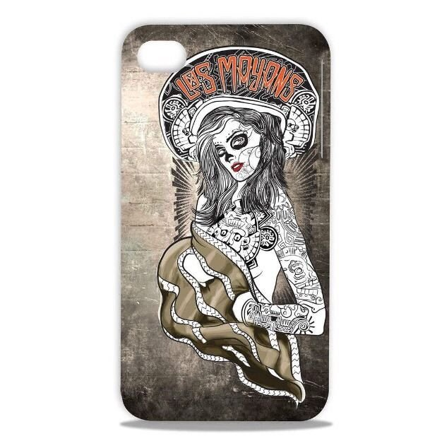 Apple iPhone 4 4S Sons Of Anarchy Case  S.O.A. Hard Case  Los Mayans