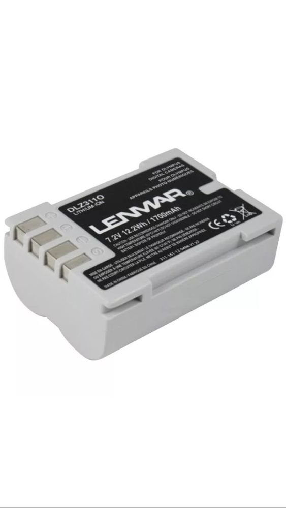 LENMAR DLZ311O Olympus BLM-5 Replacement Battery 1700mAh 7.2V