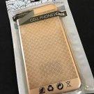 Gold Metallic Case for iPhone 6/6S Plus  Ultra Thin Diamond Flower Pattern