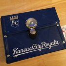 MLB Littlearth Kansas City Royals Purse Clutch Metal Tin Handmade Limited