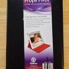 Props Pivot Apple iPad Case Cover  iPad 2 3 4  Rotating Case 360 Degrees