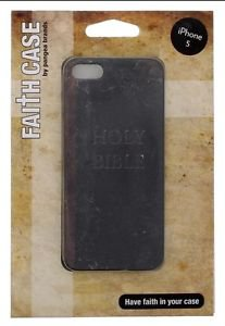 Apple iPhone 5 5S Holy Bible Case By Pangea Brands  Hard Case Brown/Black
