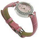 Royal Crown Celebrity CZ Pink Jewel Watch