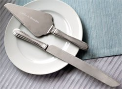 Brushed Rhinestone Serving Set