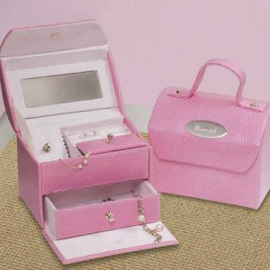 Flower Girl Jewelry Box