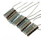 Natural Multi-Color Gemstone 925 Silver Necklace