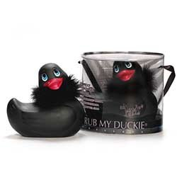 I Rub My Paris Duckie (black) Paris edition