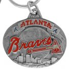 SWW16750KC - ATLANTA BRAVES KEY CHAIN