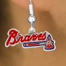 SWW14781E - ATLANTA BRAVES LOGO EARRINGS