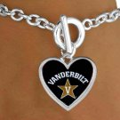 "SWW13705B - LICENSED VANDERBILT UNIVERSITY ""COMMODORES"" LOGO BRACELET"