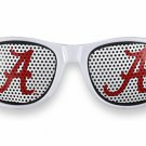 "SWW20812SG - UNIVERSITY OF ALABAMA ""A"" LOGO WHITE SUNGLASSES"