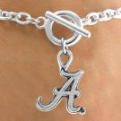SWW12902B - LICENSED UNIVERSITY OF ALABAMA LOGO BRACELET