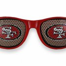 "SWW20815SG - THE SAN FRANCISCO 49ERS ""SF"" LOGO RED SUNGLASSES"