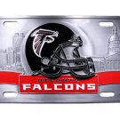 SWW19858LP - NFL ATLANTA FALCONS THREE DIMENSIONAL DETAILED CAST METAL LICENSE PLATE